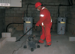 Electrical Vault Cleaning